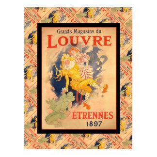 La publicité vintage, France, Etrennes 1897 Carte Postale