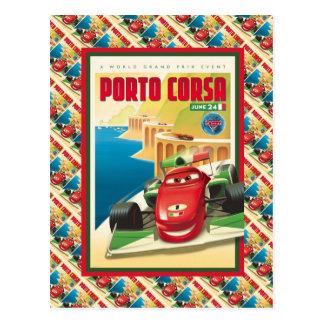 La publicité vintage, Porto Corsa, course de Cartes Postales