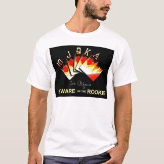 La quinte royale prennent garde du T-shirt novice