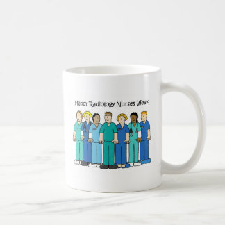 La radiologie heureuse soigne la semaine mug