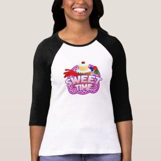 La RaglanT-chemise des femmes douces de temps T-shirt