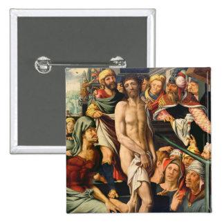 La raillerie du Christ Badge Carré 5 Cm