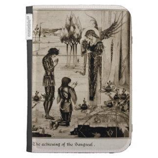 La réalisation du Sangreal, du 'd'Ar de Le Morte Étui Pour Kindle