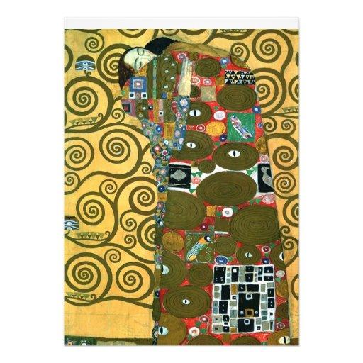 La réalisation l étreinte Klimt font gagner la
