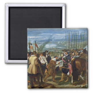 La reddition de Breda, 1625, c.1635 Aimants Pour Réfrigérateur