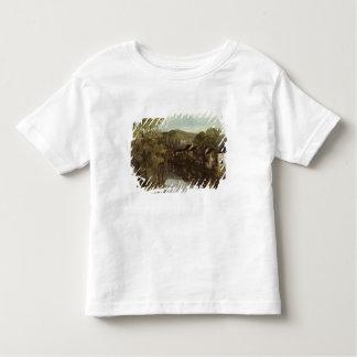 La réflexion d'Ornans, c.1872 T-shirt Pour Les Tous Petits