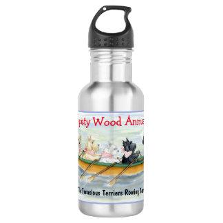La régate annuelle en bois de Whippety Bouteille D'eau En Acier Inoxydable