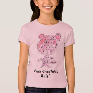 La règle du guépard rose ! t-shirt