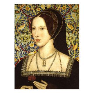 La Reine Anne Boleyn - carte postale de portrait