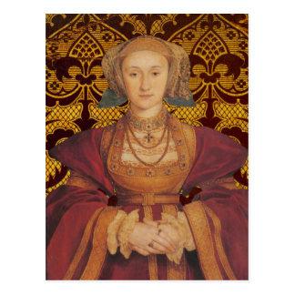 La Reine Anne de Cleves - carte postale de