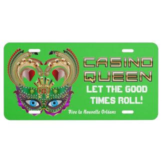 La Reine de casino de mardi gras eue connaissance