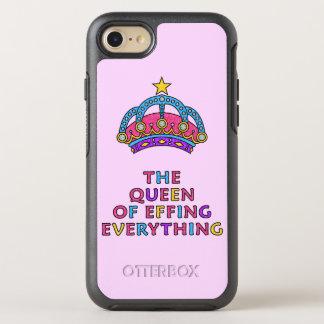 La reine de merde tout scintillement rose coque otterbox symmetry pour iPhone 7