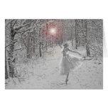 La reine de neige carte de vœux