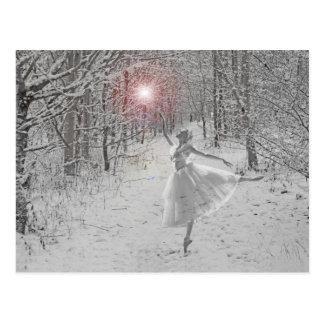 La reine de neige carte postale