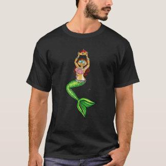 La Reine de sirène unisexe/chemise coupe des T-shirt