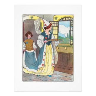 La reine des coeurs, elle a fait quelques tartes prospectus 21,6 cm x 24,94 cm