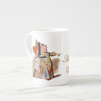 La Reine des coeurs - tasse de porcelaine tendre Mug En Porcelaine