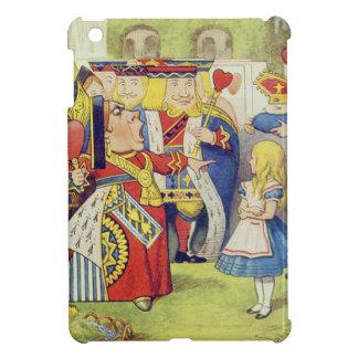 """La reine est venue ! Et n'est pas elle fâchée. """" Étui iPad Mini"""