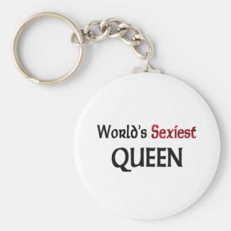 La reine la plus sexy du monde porte-clé