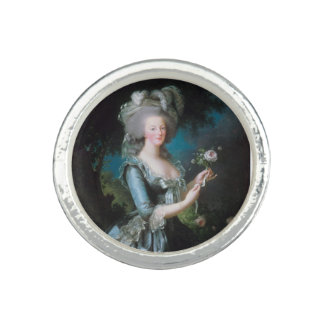 La Reine Marie Antoinette de l'anneau de la France Bagues