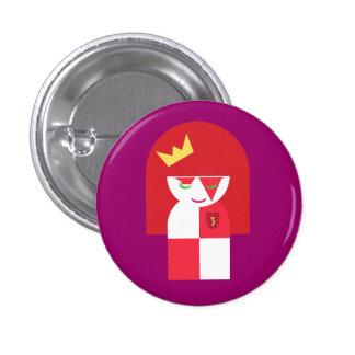 La Reine principale rouge mignonne de guerrier hab Badges
