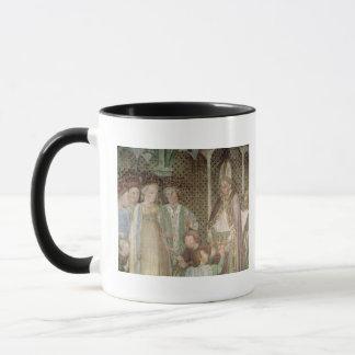La Reine Theodolinda et pape Gregory le grand Mug