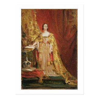 La Reine Victoria (1819-1901) prenant le Carte Postale