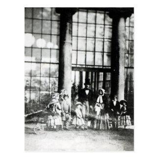 La Reine Victoria et prince Albert avec le leur Carte Postale