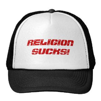 LA RELIGION SUCE ! CASQUETTES DE CAMIONNEUR