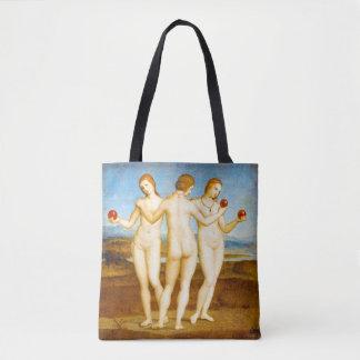 La Renaissance de Raphael les trois femmes de Tote Bag
