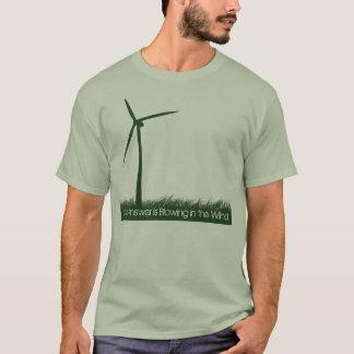 La réponse souffle dans le vent t-shirt