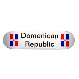 """La República Dominicana "" Plateaux De Skateboards"