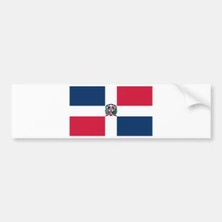 LA RÉPUBLIQUE DOMINICAINE AUTOCOLLANT POUR VOITURE