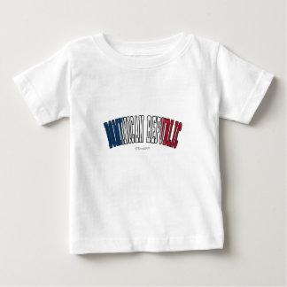 La République Dominicaine dans des couleurs de T-shirts