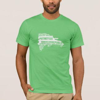La République Dominicaine de service à la T-shirt