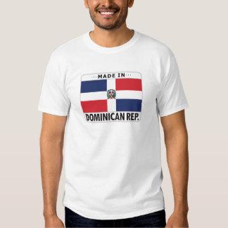 La République Dominicaine faite dedans T-shirts