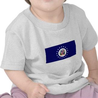 La République Dominicaine Jack naval T-shirts