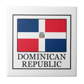 La République Dominicaine Petit Carreau Carré