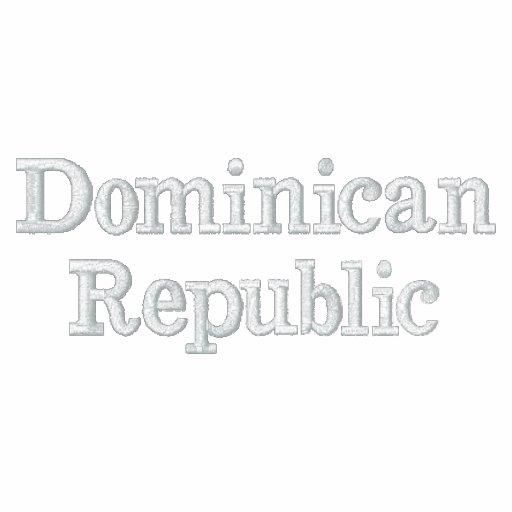 La République Dominicaine Vestes