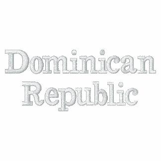 La République Dominicaine Vestes Brodées