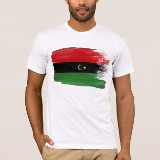 La République du T-shirt de drapeau de la Libye