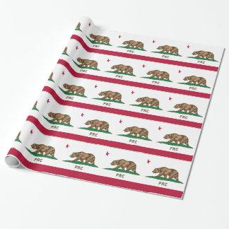 La République populaire de la Californie Papiers Cadeaux Noël