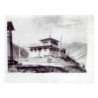 La résidence de la fuite Glassa-too Carte Postale