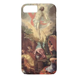 La résurrection du Christ (huile sur la toile) Coque iPhone 7
