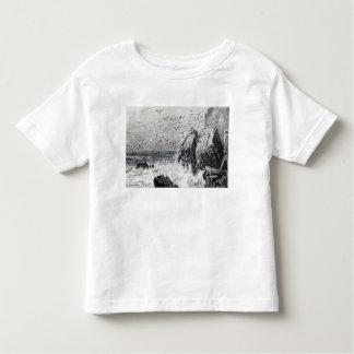 La retraite des mouettes t-shirt pour les tous petits