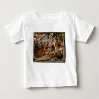 La réunion d'Abraham et d'art de Melchizedek T-shirt Pour Bébé