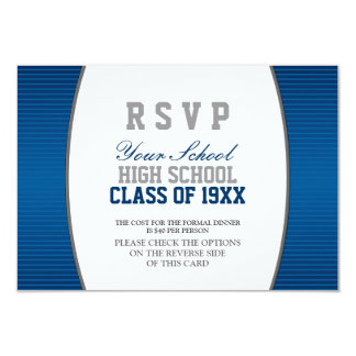 La Réunion de classe personnalisable RSVP Carton D'invitation 8,89 Cm X 12,70 Cm