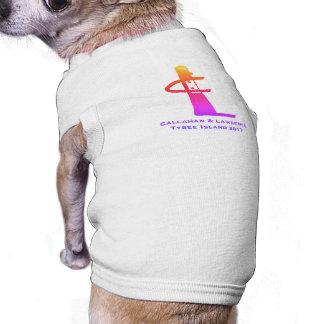 La Réunion de famille d'île de Tybee 2017 T-shirt Pour Chien