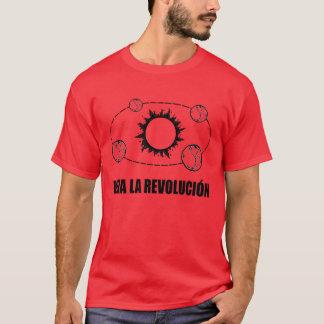 La Revolucion Sun de vivats et T-shirt de la terre