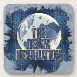 La révolution de denim dessous-de-verre